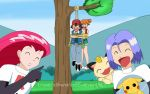 Team Rocket : We Caught a Pair of Lovebirds ! by TrainerAshandRed35