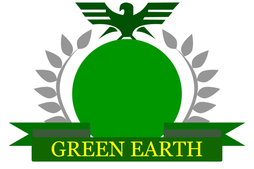 Green Earth Flag by AceRacer