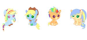 Closed: Rainbowjack adoptables by Dellisa121