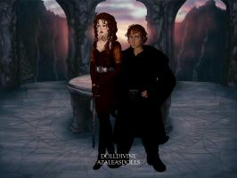 Rumbelle LOTR by Childoftheflower