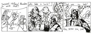 Hellboy funnies nr. 1 by Spectre-x