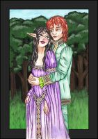 luthien and beren ver. 1 by HypnoticRose