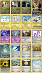 All Doctor and Derpy Hooves' Family Pokemon cards by The-Ketchi