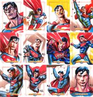JLA Cards set 14 by ronsalas