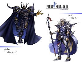 Final Fantasy IV by ShiroTagachi