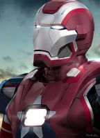 IRON PATRIOT by Sheridan-J