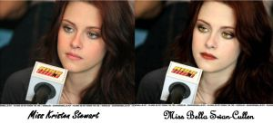 From Kristen to Bella Cullen by tissy73