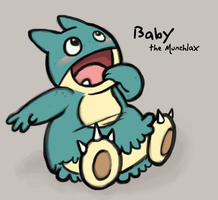 BSC: Baby the Munchlax by ph00