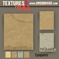 Textures: Carton paper by overdosse