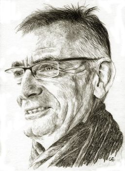 Latest sketch of my husband by delph-ambi