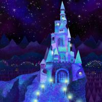 Twinkling Castle by Nimily