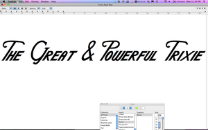 Trixie font SNEAK PREVIEW by purpletinker