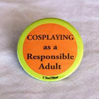 Cosplay Responsible Adult by NaniWear