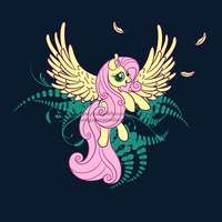 Fluttershy's Flight by SingapuraStudio