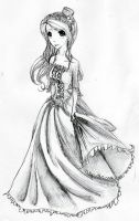 Ballroom Gown by Lunarlullaby9413