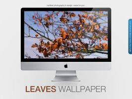 Leaves Wallpaper by MrFolder