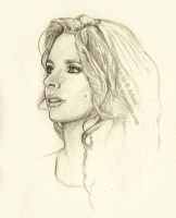Stana Sketch Work in Progress by StandsWithAPencil