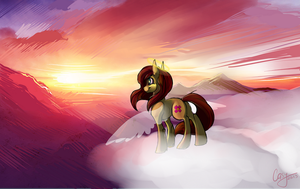 Most beautiful sunset by CasyNuf