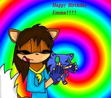 Happy b day Emma by Doodle-To-The-Rescue