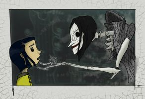 Coraline and the Other Mother by TheHerdman