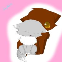 Cat love X3 by snowflake95