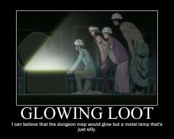 Glowing Loot by ProfessM