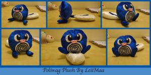 Poliwag Pokemon Plush by LeiiMaa