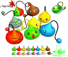 MMD-Maplestory Slime Download by Shioku-990