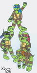 Rtw Turtles by Nicktoons4ever