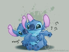 Stitch is Luv by kaykaykit