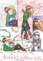 Astrid x Hiccup by Mariya14