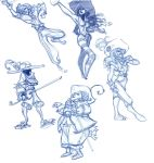 pirates characters by Sally-Avernier