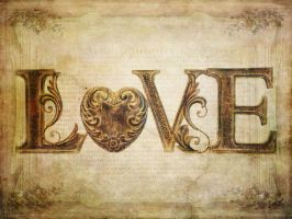 Shabby Chic Love by patchoulipatch