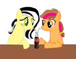 Bff who share everythink. by cottoncloudyfilly