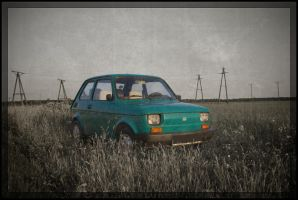Colour of the Past: Fiat 126p by Farasia