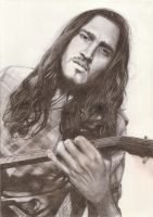 John Frusciante by wanilly