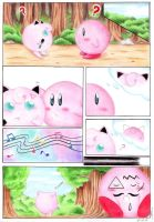 Kirby and Jigglypuff by Celestial91
