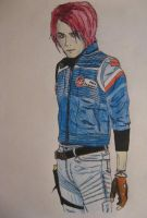 Gerard Way aka Party Poison by deadphilosophers