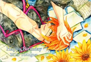 Happy Birthday lavi by rukito-28
