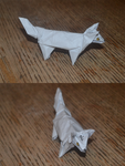 Reynardine in Origami by Nuvenas