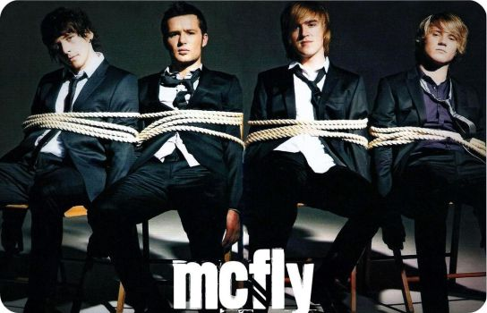 Mcfly tied up. by mrs-cesc-fabregas