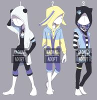 [OPEN AUCTION] Kemonomimi Casual Fashion Adopt 6 by NadiaSyahda