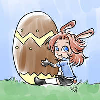 Happy Easter by Pipix21