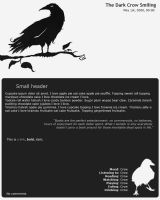 The Dark Crow by TiaVon