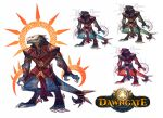 Dawngate Skin - Assassin Salous by nicholaskole