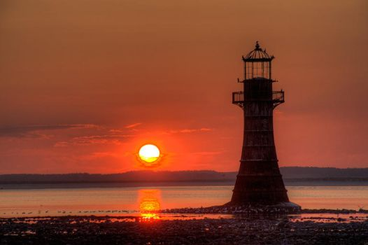 Whiteford lighthouse tonemapped by swanseamale47