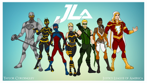 My DC Universe - JLA Redesigned by Femmes-Fatales