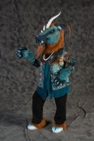 Copper Kirin For Auction at Califur by LilleahWest
