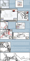 Digital Lineart Tutorial by arafel