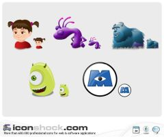 Monsters inc by Iconshock
